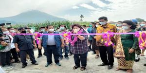 Resmikan Kolam Renang Ulu Lau, Cory Sebayang: Semoga Dapat Berkontribusi untuk Pariwisata Karo